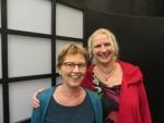 Anny Havermans en Corinne Verheule
