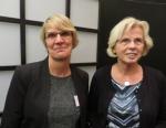 Anita Venderbosch en Thea van Erp