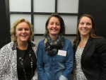Dorini Janssen,  Marjolein van Nieuwenhuizen en Janine Kampjes-Koster