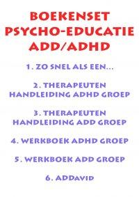 Set psycho-educatie ADD/ADHD incl. ADDavid