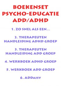 Set psycho-educatie ADD/ADHD incl. ADDaisy