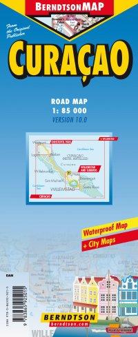 Wegenkaart - Landkaart Curaçao