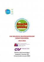 CAO Welzijn & Maatschappelijke Dienstverlening 2014-2016