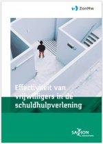 Effectiviteit van vrijwilligers in de  schuldhulpverlening