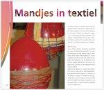 Mandjes in textiel