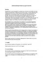CAO GGZ (Onderhandelingsresultaat 22-05-2015)