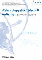 Ontlastingsproblemen bij kinderen met een autismespectrumstoornis (PDD-NOS)